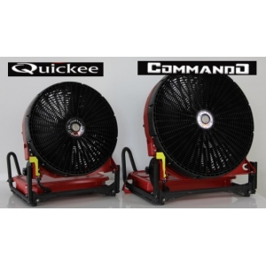 Ventilateurs sur batterie QUICKEE & COMMANDO