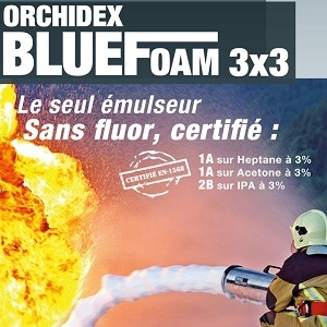 Orchidex BlueFoam 3x3