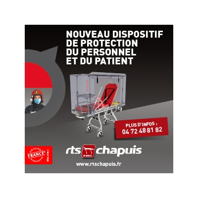TENTE DE PROTECTION ET DE CONFINEMENT POUR CHARIOTS BRANCARDS